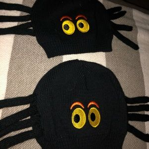 Other - Two twin baby 6-12mo spider Halloween hats